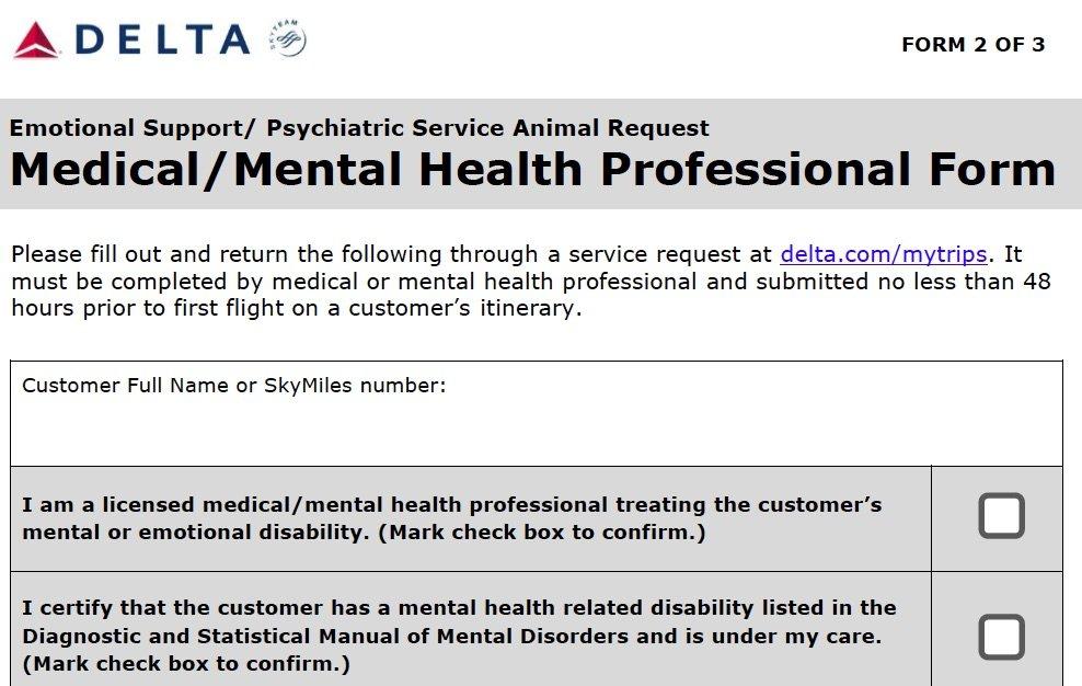 Esa Travel Docs Includes Letter Signed Airline Form